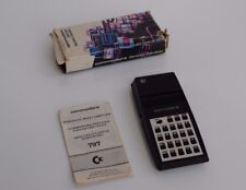 COMMODORE MODEL 797 Electronic Calculator - Calculadora - VINTAGE