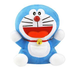 "NEW Doraemon Sitting Plush Doll Stuffed Animal Soft Toy 25cm ( 9.8"") / Blue"