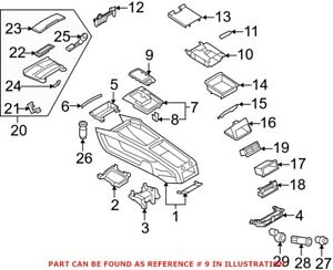 Genuine OEM Automatic Transmission Shift Cover Plate for Audi 4L0864260A