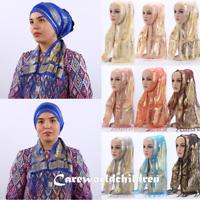 Fashion Tassels Scarf Women's Islamic Hijab Long Shawls Muslim Shayla Headwrap