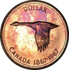 Duck Canadian Loon Canada One Dollar Coins1987 & 1988