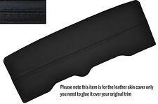 Costura negra Techo Solar Panel De Cuero Skin Tapa se ajusta Porsche 928 S2 S4