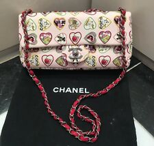 RARE Chanel Limited Edition Baby Rosa Flap Bag