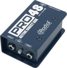 Boite de direct active PRO48 Radial engeneering PRO-48 - neuf