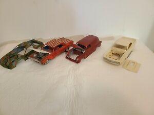 Model car Junkyard lot.