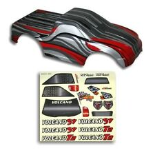 Redcat Racing 1/10 Truck Body Red and Silver for Volcano Part  88022RS
