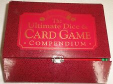 Card & Dice game compendium. Never used. 2 card packs & instruction book
