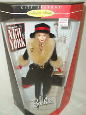 1997 Winter In New York Barbie # 19429 City Seasons Collection