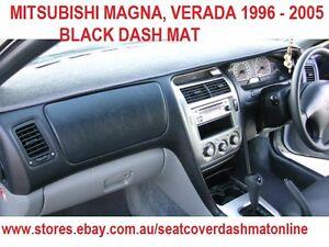 DASH MAT, DASHMAT FIT  MITSUBISHI MAGNA,VERADA 1996 - 2005, BLACK