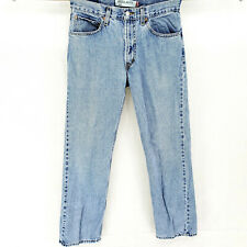 Vintage Levis 505 Regular Fit 32x32 (Actual 30x31) Straight Leg Stone Washed