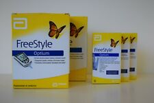 NEW FreeStyle Optium - Blood Glucose and Ketones Monitor + 10 Test Strips
