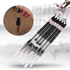 6Pcs/set Piston Water Brush Chinese Calligraphy Pen For Writing/Drawing/Painting
