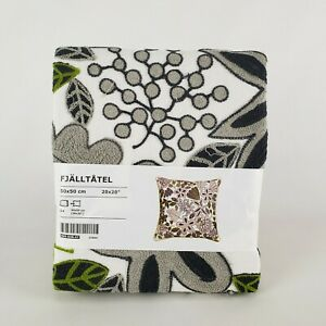 "Ikea Fjalltatel Pillow Cushion Cover 20"" x 20"" Gloral Multicolor Latest New"