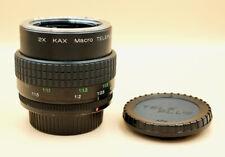 TELEPLUS KAX MC7 2x Macro Tele Para Pentax K PK-un ajuste SLR DSLR