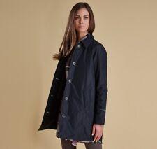 Barbour Winter Tartan Waterproof and breathable Black Straiton Jacket size UK 14