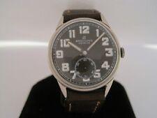 Breitling Vintage Steel Military Manual Wind Watch