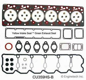 Enginetech CU359HS-B Head Gasket Set For 98-02 Dodge Ram 2500 3500 5.9L 24V
