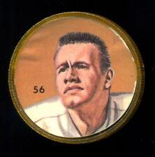 1963 CFL NALLEY'S FOOTBALL SP COIN #56 Bob Minihane Hamilton Tiger Cats RARE EX