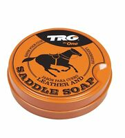 TRG GRISON LEATHER SADDLE SOAP CLEANER UPHOLSTARY SOFAS BOOTS SHOES 100ML by...