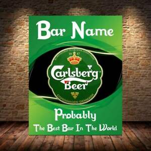 personalised FUNNY Bar Sign Metal sign man cave shed garage home pub cocktail
