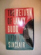 The Return of Lanny Budd By Upton Sinclair 1953 1st Printing Cold War Russia OMG