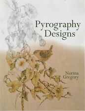 PYROGRAPHY DESIGNS Norma Gregory **VERY GOOD COPY**