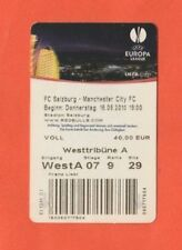 ORIG. ticket Europa League 2010/11 Red Bull Salzburg-Manchester City FC!!!