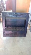 Vintage Ornate Gas Fireplace Insert