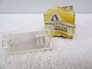 NOS 1993-2000 Renault R9 Broadway Domestic Luggage Lamp Lens 7701348544 dp