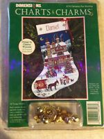 Dimensions Charts & Charms Kit CHRISTMAS PAST STOCKING
