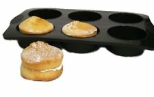 WellBake JUMBO Extra Large Muffin / Pie Tray - 6 Cup.