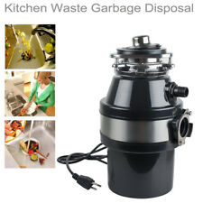 2600Rpm Electric Kitchen Waste Disposer Food Garbage Sink Disposal Household Us�