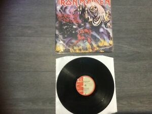 Iron Maiden Number of the beast Colombia very rare