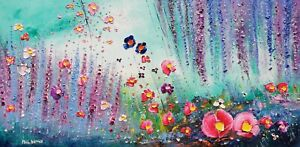 """""""It's Within Us"""" - Flowers in Love, a large oil painting on canvas, Phil Broad"""