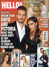 HELLO! #1350 20 October 2014 VICTORIA and DAVID BECKHAM Angelina Jolie @NEW@