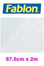 Genuine Fablon Self-Adhesive Window Film FAB10281 Transparent White 67.5cm X 2m