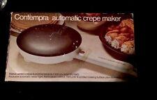Contempra Automatic Crepe Maker