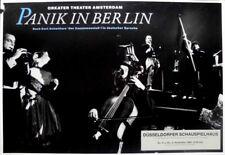ORKATER THEATER AMSTERDAM - 1986 - Plakat - Panik in Berlin - Poster - Düsseldor