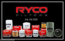 Z62 RYCO OIL FILTER fit Ford Escort TWIN CAM 1600 Petrol ../71 ../76