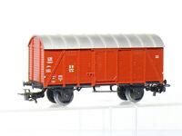 Märklin 4905  H0 gedeckter Güterwagen Gmh 39 der DB, braun, aus Bausatz