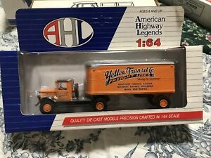 AHL 1/64 Die Cast Mack Model CJ Preston Semi Truck For S Scale Railroad