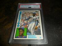 1984 Topps Traded #42T DWIGHT GOODEN AUTOGRAPH RC Rookie NEW YORK METS   PSA/DNA