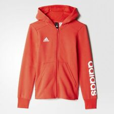 Adidas Ragazze Felpa con Cappuccio Formazione Essentials 3-Stripes Medio BP8582