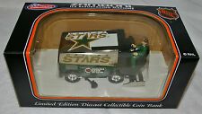 "DALLAS STARS 1999 ZAMBONI BANK Large Metal Die cast 7"" x 3"" x 4"" COLLECTIBLE"