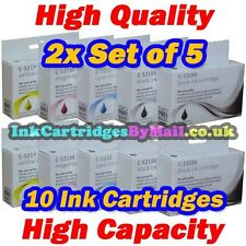 10 HQ Ink 520 521 For Canon PIXMA IP3600 IP4600 IP4700 MX860 MX870 MP540 2 Sets