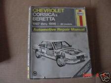 Chevrolet Manual for Bretta & Corsica 1987 - 1996