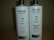 Nioxin System 2 Cleanser & Scalp Therapy Liter/33.8 oz Duo