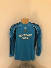 Newcastle United Blue Goalkeeper Shirt Long Sleeve Childrens Size 13-14y