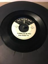 Brian Browne Trio Blue's For The U.F.O.'S & Flowers On The Wall Academy Promo 45