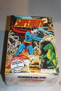 SEALED 1974 Superboy Krypto Model Kit AURORA w/8 Page Comic MISP MISB NOS NEW